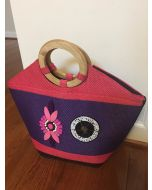Pink & Purple Purse