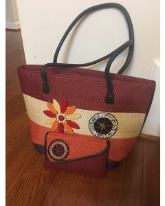 Purse with Wallet - Orange