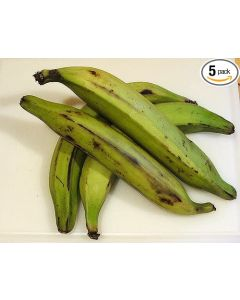 Fresh Whole Plantains (5 fingers)